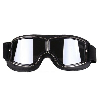 Motorcycle Riding Goggles Retro Anti-sand Glasses Eyewear With Adjustable Strap