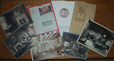 Jane Addams' Chicago Hull House Memorablia Collection - Books, Pamphlet, Photos