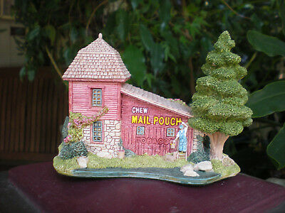 LILLIPUT LANE The Birdsong Mail Pouch 1994 3 1/2 inch tall