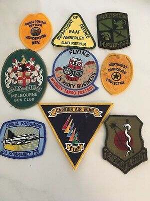 Airforce 23 And Assorted Badges