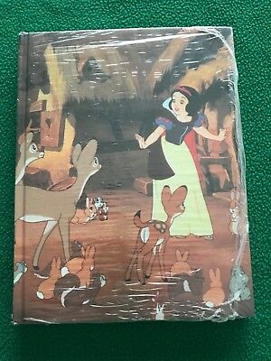 Walt Disney SNOW WHITE Hardcover Address Book, New & Sealed Original Shrink Wrap