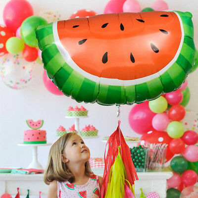 Strawberry Watermelon Aluminum Foil Balloons Birthday Party Wed Festive Decor