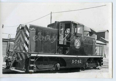 Miinneapolis & St Louis Railway GE 44-Ton Locomotive 4x6 B & W Photo 1947