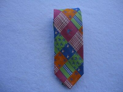 Men's Tie Lilly Pulitzer Brand color Blend 100% Silk Beautiful
