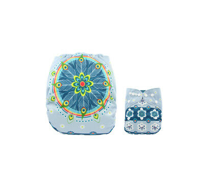 Modern Cloth Reusable Washable Baby Nappy Diaper & Insert, Magical Dream Catcher
