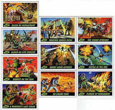 2012 Topps Mars Attacks Deleted Scenes Complete Set 10/10 Cards