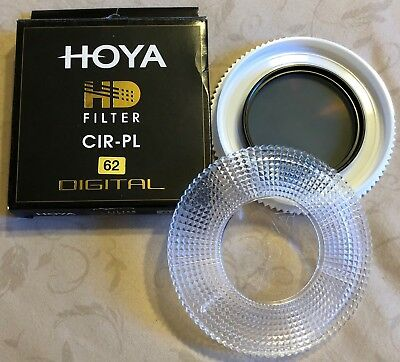 HOYA HD CIR-PL filter - 62mm - UNUSED - ORIGINAL BOX