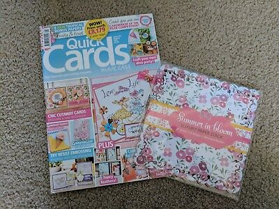 Quick Cards Made Easy Magazine and Free Gift Issue 155