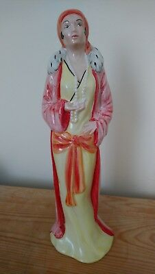 EXTREMELY RARE lorna bailey art deco figurine. No. 7 of only 40!!