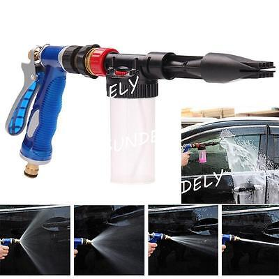 NEW Foamaster II Style Snow Foam Car Wash Spray Gun Lance Uses Hose Pipe Blue