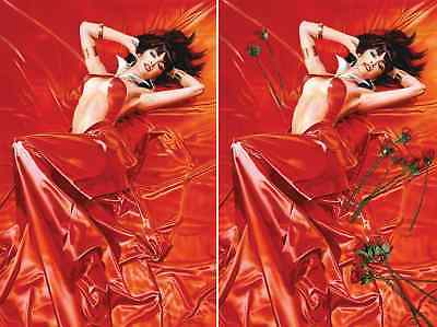 Vampirella Roses For The Dead 1 Mike Mayhew Virgin 2 Pack Set Nm
