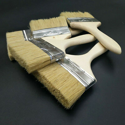 Multi-Use Thicken Wood Handle Paint Wall Brush Home Painting Decorating Tool