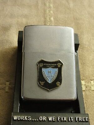 Zippo 2 faces USS Stribling US Naval Forces Vietnam 1967
