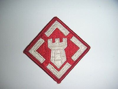 Used US Army 20th Engineer Brigade (ABN) Unit Patch (Sew on Type) No Tab (#1144)
