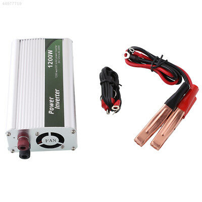 1200W Auto DC 12V to AC 220V Power Inverter Charger Converter for Electronic Car
