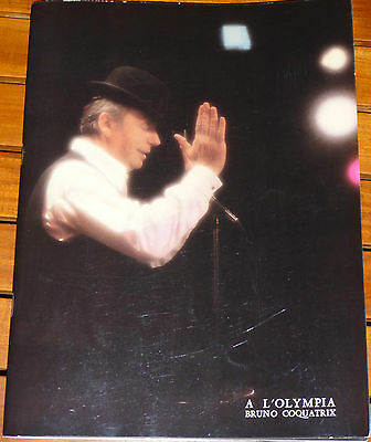 Programme Yves MONTANT à L'OLYMPIA 1981