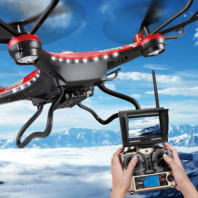 6-Axis FPV RC Quadcopter Helicopter Drone 5.8G +2.0MP camera +Battery