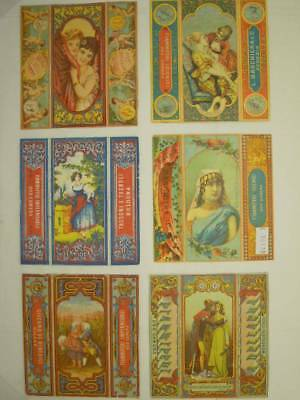 Scatole Fiammiferi-Match Boxes-Cromolitografie- Italy Lot-32 Items-V6E-S50115