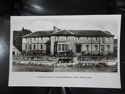 The Mayfield Kirkcudbright SW Scotland Real Photo Postcard Dumfries