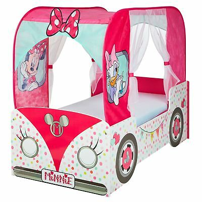 Minnie Mouse Campervan Toddler Bed Junior Bedroom + Mattress Options