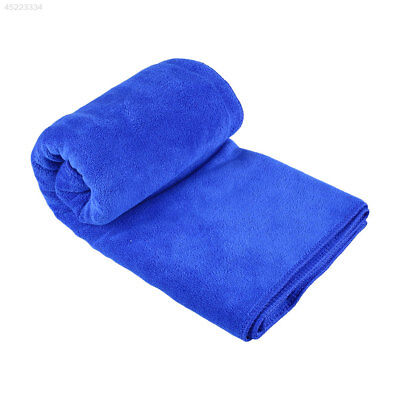 60x160cm Auto Car Vehicle Microfibre Thicken Cleaning Towel Duster Blue
