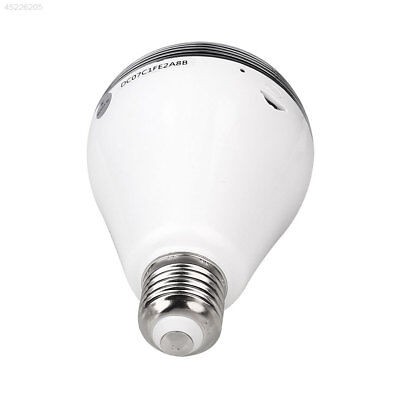 WIFI Full View Spy Monitoring Romote Control Bulb Home Garden Safety Security