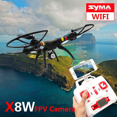 X8W Drone WiFi FPV RC Quadcopter Helicopter 6-Axis HD +2MP Camera RTF