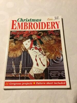 Craft book - Christmas embroidery - 23 Projects