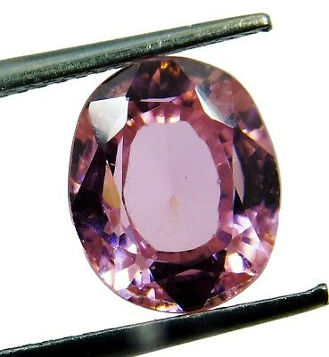 Natural 7.10 Ct. Untreated Oval Cut Kunzite Loose Gemstone. 6933  AQ
