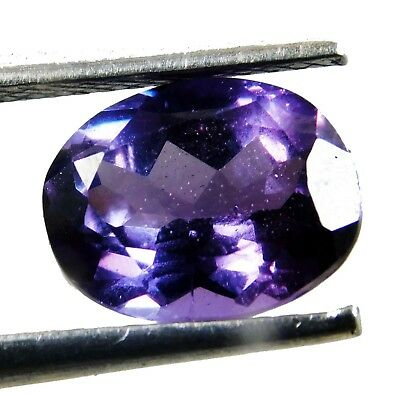 Natural 2.80 Ct Beautiful Color Changing ALEXANDRITE Loose Gemstone. 7579 AQ