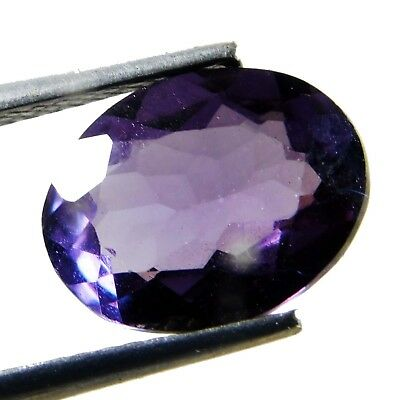 Natural 3.85 Ct Beautiful Color Changing ALEXANDRITE Loose Gemstone. 7569 AQ
