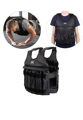 NEW 50KG Weighted Vest Training Running Jacket Coat Strength Health Fitness