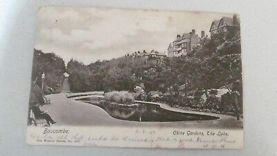Postcard - Boscombe - Chine Gardens - Dated 6/8/03