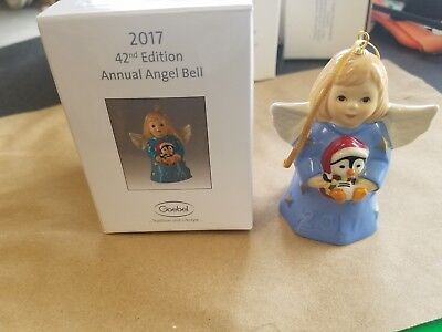 2017 annual goebel angel blue new in box