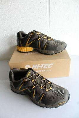 HI-TEC V-Lite Infinity Event Olive, Taupe and Sunflower Hiking Shoes Mens UK8