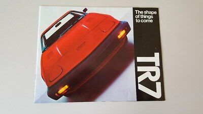 Triumph TR7-  Sales Brochure (12 pages in full color)