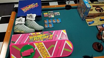 Back to the future 2,BTTF 2,Hover board,Shoes,trading cards,1980s,Marty McFly