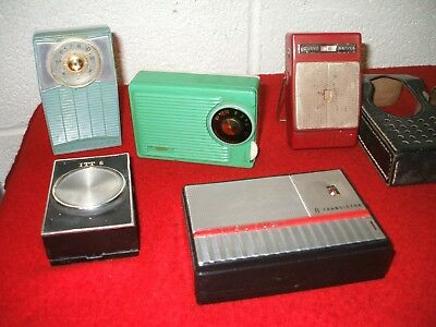 Vintage Am Transistor Radio Lot