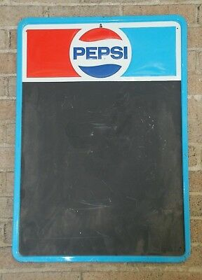 Vintage Pepsi Blackboard Menu Board Sign