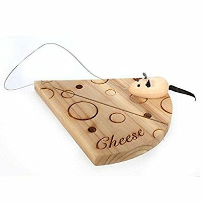 Wooden Cheese Board Mouse Kitchen Cooking Serving Chopping Slicing Bread