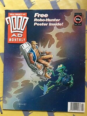 2000AD best of Monthly issue 86 Robo Hunter