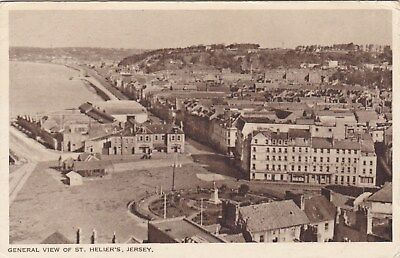 Old Stamped Postcard. St. Helier's, Jersey.