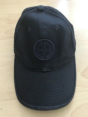 Stone Island Junior Blue Hat Size 3