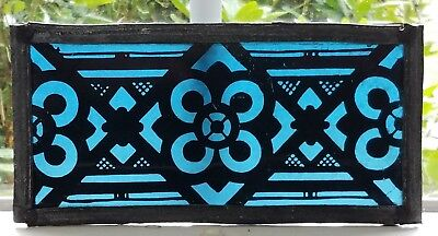 GOTHIC FIRED LEADED STAINED GLASS SUNCATCHER SOUTHERN NY CHURCH EARLY 1900s