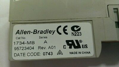 Allen Bradley 1734-MB Point I/O Mounting Base  X 8 OFF