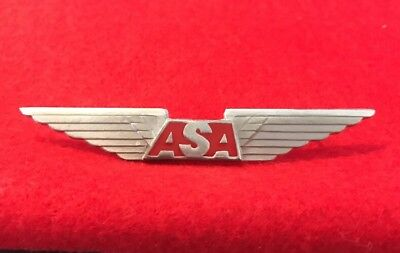 Atlantic Southeast Airlines First Officer Pilot Wing 1st Issue Crew Wings Badge