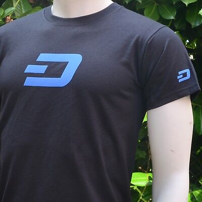 DASH Men's T-Shirt - Print on Front, Back and Both Sleeves Crypto