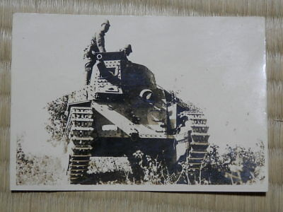 WW2 Japanese Picture of Type 89 I-Go medium tank.Very Good