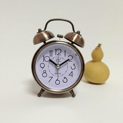 Classic Vintage Alarm Clock With Night LED Cute Fashion Teenagers Table Watch