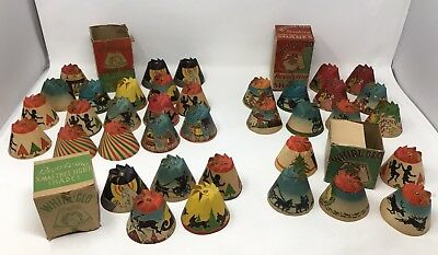 Vintage Whirl-Glo Revolving Christmas Light Shade Set Huge Lot With Boxes